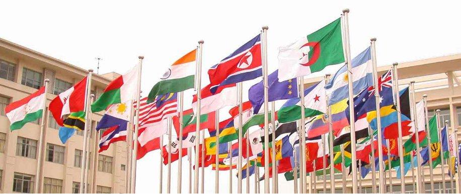 Latvijā ražoti karogu masti